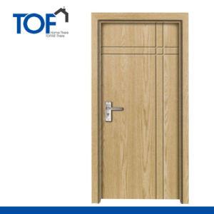 2015 New Design MDF Coated Wood Interior PVC Doors