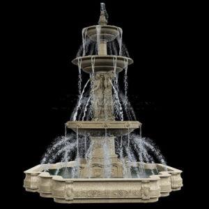 Spectacular Fountain, Garden Fountain, Public Fountain