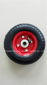 Good Quality Natural Rubber Wheel 6X2 pictures & photos