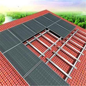 PV Solar Pitched Roof Installation Bracket Aluminum Frame Solar Support Mounting Brackets
