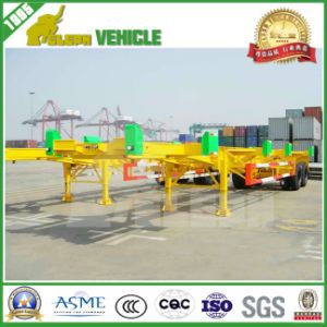 Double Axles Terminal Container Port Trailer