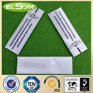 Customized Printed Am Security Garment Label (AJ-la-08) pictures & photos