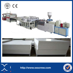 PVC Door Plastic Extruder Machine pictures & photos