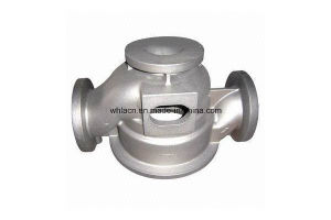 Casting Valve Body Casting Pump Casting Flange Motor Part (HSCV19) pictures & photos