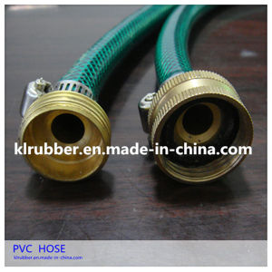 PVC Reinforced Garden Hose with Copper Joint pictures & photos