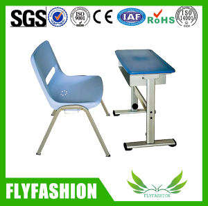 Strong Frame Classroom Furniture Single Desk and Chair (SF-34S) pictures & photos