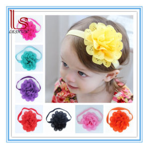 Children Flower Hair Accessories Baby Hair Ornament Hair Band Elastic Headband pictures & photos