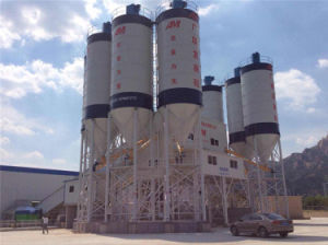China Hzs90 90m3/H to 180m3/H Concrete Mixing Plant for Sale pictures & photos