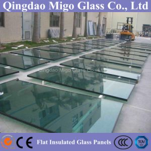 Rectangle Clear Tempered Insulated Glass for Commercial Building pictures & photos