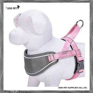 Reflective Strips Nylon No Pull Neoprene Padded Training Dog Harness Sph9028 pictures & photos