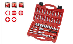 46PCS 6.3mm Series Metric Tool Set