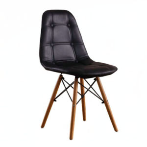 MID Century Modern Eames Style Dsw Dining Side Chair Wood Leg