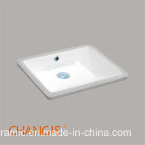 Merveilleux Classical Square Bathroom Ada Vessel Sink 1639#