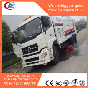 10wheels 6X4 Dongfeng Street Road Cold Water Wash Cleaning Truck pictures & photos