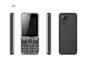 2.4 Inch Factory GSM Dual SIM Phone Qvga Feature Mobile Phone with Torch Bluetooth FM C27