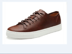 Genuine Leather Men′s Casual Shoes (CAS-032)