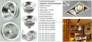 CREE Chip Rubycon Capacitor 15W TUV Approval LED AR111 pictures & photos