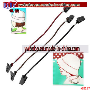 Safety Wind Lanyard Cord Plastic Clip for School Supplies (G8127) pictures & photos