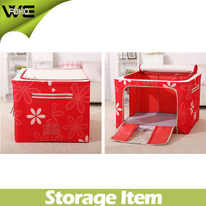 Folding Storage Cabinet Collapsible Fabric Storage Bins Box