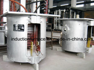 250kg Small Induction Tilting Crucible Furnace pictures & photos