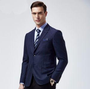 Fashion Popular Classic Style Blue Colour Men Suits