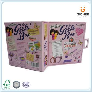 Custom Printed Paper Packaging Gift Box with Metal Lock pictures & photos
