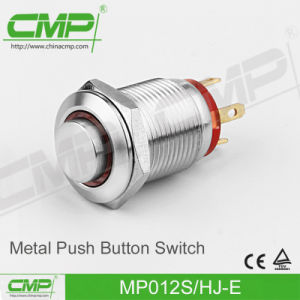 12mm Metal Push Button Switch (CE TUV) pictures & photos