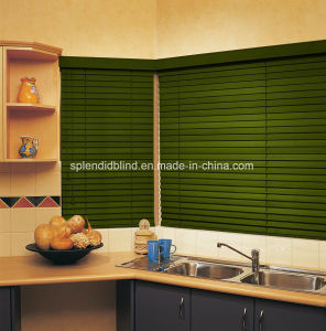 50mm Eco-Friendly Wooden Blinds Blind Best-Selling Wood Blinds pictures & photos