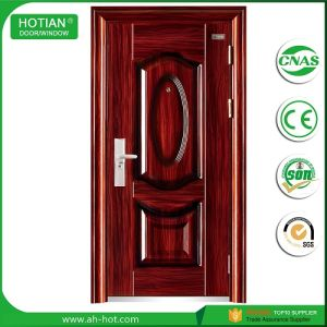 Single Design House Steel Exterior Room Door For Home Main Gate