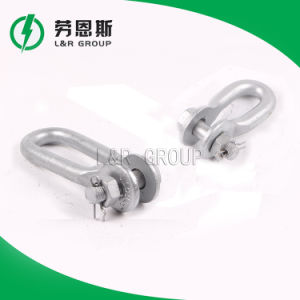 U, UL-Series Galvanized Forge Shackle/Anchor Shackle/Powerline Fitting pictures & photos