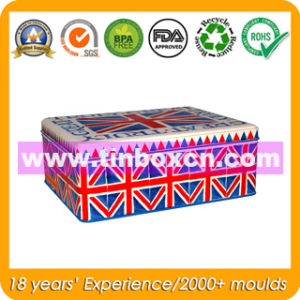 Rectangular Metal Tin Box for Promotion, Gift Tin Container pictures & photos
