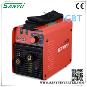 Sanyu 230V/1pH IGBT MMA Welding Machine (MMA-140L IGBT) pictures & photos