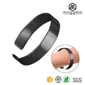 New Popular Most Favourable Girls Bracelet, 3k Black Carbon Fiber for Fashion Girl New Designer Bracelets pictures & photos