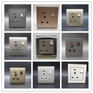 One Gang 13 a Wall Switch Socket pictures & photos