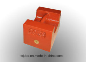 20kg Cast Iron Weight, Test Weight, Counterweights, Calibration Weights, Balancing Weights pictures & photos