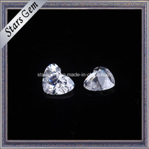 Heart Shape 4X5mm Cubic Zirconia Synthetic Diamond Stone pictures & photos
