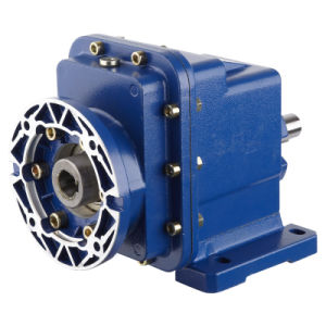Two-Staged Speed Reduction Helical Gearbox Motor Reducer