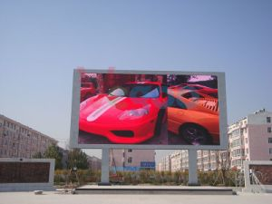P6 Full Color Outdoor Advertising LED Display Screen Cabinet