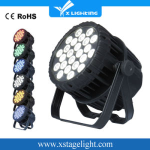 Outdoor IP67 24*18W Rgbwap 6in1 Full Color LED PAR Can Light pictures & photos