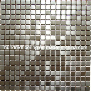 Silver Stainless Steel Metal Mosaic Wall Tile (SM233) pictures & photos