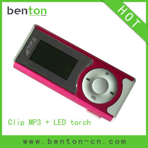 USB Flash MP3 Player with LED Torch (BT-P102)