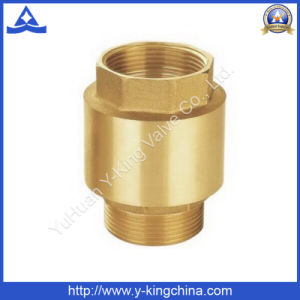 Vertical Lift Brass Check Valve (YD-3002) pictures & photos