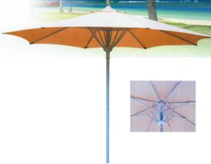10 Ft Easy up Spring Garden Umbrella -Outdoor Umbrella