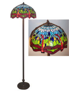 Tiffany Floor Lamp (G18-31-GB-FL256)