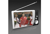 Analong TV/MP4/MP5 Player (PRA-2816A-WHITE-BLACK)