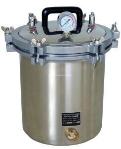 Portable Pressure Steam Sterilizer pictures & photos