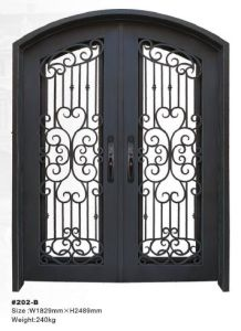 Delicieux 100% Hand Fabricated High Quality Wrought Iron Security Door (HT 202B)