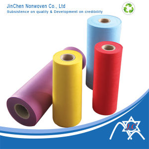 Colorful PP Spunbond Nonwoven Fabric for Shopping Bag Product Textile pictures & photos