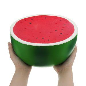 china high quality new 25cm big squishy watermelon slow rising