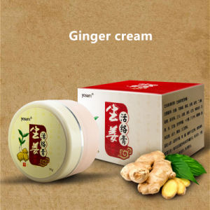 100% Pure Natural SPA Massage New Plant Lymphatic Drainage Ginger Cream for  Pain